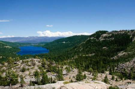 Donner Summit and Serene Lakes