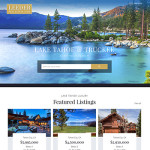 Lake Tahoe Real Estate Website Launch